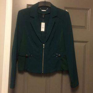 Whitehouse Blackmarket Dark Green fitted jacket 16